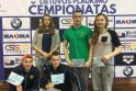 Geriausi čempionato plaukikai
