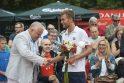 Prezidento taurės turnyrą laimėjo L.Grigelis