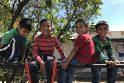 Su Meksikos vaikais, persekiojamais kraupių praeities šmėklų
