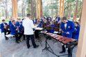 """Nesenstanti """"Dūdų vasara"""" Palangos Birutės parke žavi šimtus muzikos mylėtojų"""