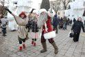 Prie Kalėdų eglės – kauniečių šurmulys