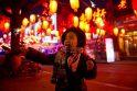 Kinija švenčia tradicinę Žibintų šventę