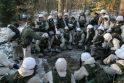 Mokomojo pulko kariams įteikti kurso baigimo pažymėjimai