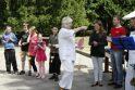 Tuberkulioze sergantiems vaikams surengta šventė