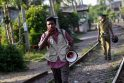Cunamio pavojus po žemės drebėjimų Indijos vandenyne atšauktas