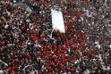 Egipte po dramatiškų atsisveikinimo scenų palaidotas koptų popiežius