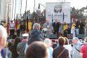 Burlaivių regatos šventei duotas startas (renginių programa)