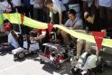 Studentų miestelyje virė robotų kovos