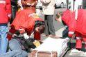 Perėjoje automobilis sužalojo klaipėdietę