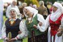 Kauno Botanikos sode švenčia aleksotiškiai