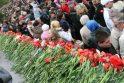 Tūkstančiai klaipėdiečių pagerbė karo aukas