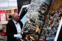 Frankfurto knygų mugėje pristatyta didžiausia pasaulio knyga