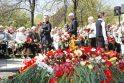 Gegužės 9-ąją klaipėdiečiai paminėjo karių kapinėse (papildyta)