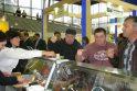 Į Maskvą – su lietuviškomis dešromis, sūriais ir šakočiais