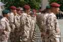 Klaipėdoje sutikti iš Afganistano grįžę kariai