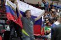 Klaipėdos arenoje rusai palaužė ukrainiečius