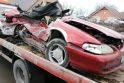 Klaipėdoje avarijoje žuvo abiturientas