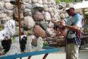 Kurorto šventę Palangoje lydi puiki nuotaika ir itin vasariški orai