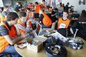 Klaipėdoje – robotų konstruktorių čempionatas