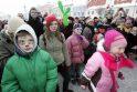 Užgavėnių persirengėliai užpuolė JAV ambasadorę Lietuvoje