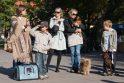 Sereikiškių parke palaiminti naminiai gyvūnai