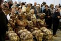 Misionierius ir juodaodžiai katalikai meldėsi drauge su klaipėdiečiais
