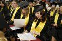 Iš KU Socialinių mokslų fakulteto – su pakilia nuotaika