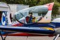 Oro akrobatų lėktuvai jau raižo Lietuvos padanges
