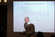 Diskusija apie futbolininkų rengimą Lietuvoje