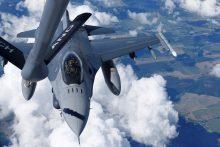 JAV turi planų stiprinti Baltijos šalių oro policijos misiją