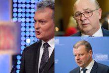 Prezidentu rinkėjai matytų S. Skvernelį, G. Nausėdą ir V. Matijošaitį