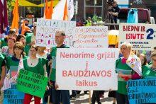 Profsąjungos ragina prezidentę vetuoti Darbo kodeksą