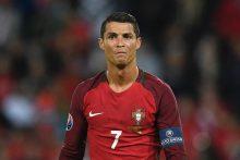 C. Ronaldo nerealizavo 11 m baudinio – lygiosios