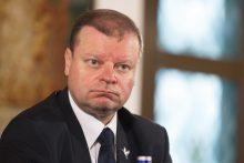 S. Skvernelis penktadienį žada susitikti su G. Landsbergiu