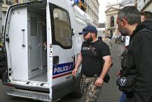 Rusų sirgalių sulaikymą Prancūzijoje Maskva vadina nepriimtinu
