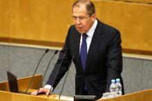 Rusijos URM iškvietė Prancūzijos ambasadorių dėl rusų sirgalių sulaikymo