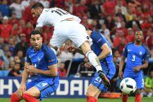 Prancūzijos futbolininkai palaužė Albanijos rinktinę ir iškopė į aštuntfinalį