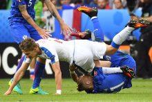 Europos futbolo čempionatas: Kroatija ir Čekija sužaidė lygiosiomis