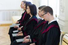 Prezidentė paskyrė šešis teisėjus