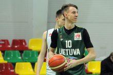 Lietuvos jauniai rengiasi Europos čempionatui
