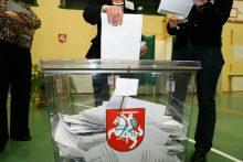 Paaiškės partijų numeriai rinkimų biuleteniuose