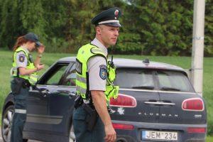 Policija įspėja: baus už menkiausią greičio viršijimą