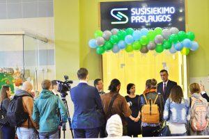 Vilniaus geležinkelio stotyje – naujas klientų aptarnavimo centras
