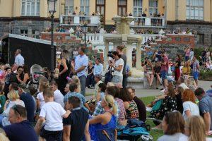C. Frenkelio vilos vasaros festivalyje – roko ir klasikos skambesys