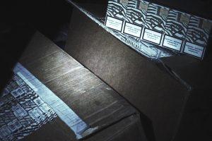 Rūkalų kontrabandą jurbarkietis gabeno net neslėpdamas
