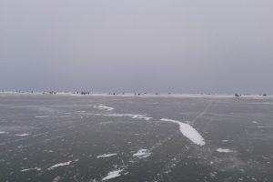 Išgelbėti ant Kuršių marių pasiklydę žvejai iš Kauno