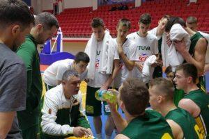 Lietuvos U-18 krepšinio rinktinė įveikė Turkijos ekipą