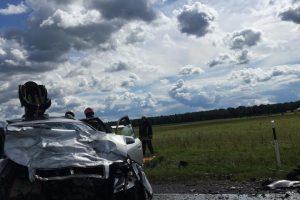 Kraupi avarija Alytaus rajone: žuvo du žmonės, dar du sužaloti