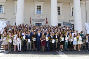 Daugiausia šimtukininkų išugdė Vilniaus licėjus