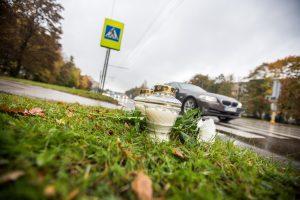 18-metis Kaune mirtinai sužalojo per perėją ėjusį vyrą